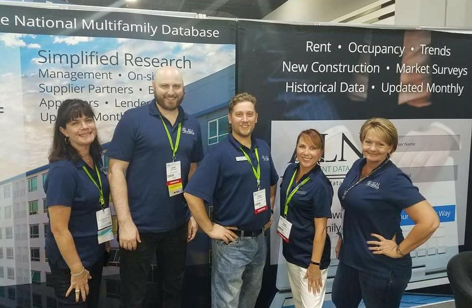 The ALN Team at NAA Booth 1501